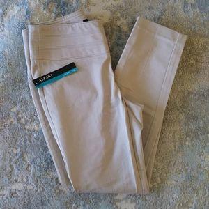 Alfani Skinny Leg Stretch Pull On Pants Size 6P